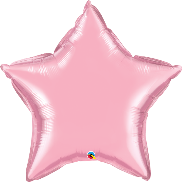 Jumbo Personalised Star Balloons